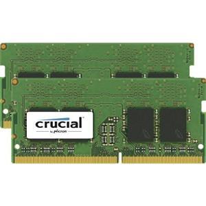 Crucial  Micron製  DDR4 ノート用メモリー 8GB x2   2400MT/s / PC4-19200 / 260pin / SO
