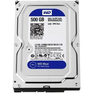 WESTERN DIGITAL WD5000AZRZ-RT WD Blue [3.5インチ内蔵HDD(500GB)]