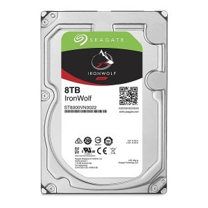Seagate ST8000VN0022 IronWolf [SATA 7200rpm 3.5インチ内蔵HDD (8TB)]|aprice