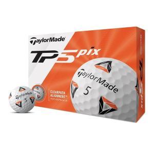 テーラーメイド TP5 Pix(2020年モデル) ゴルフボール 1ダース(12個入り) 日本正規品