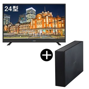maxzen J24SK03録画用USB外付けハードディスク2TBセット 24V型 地上・BS・110度CSデジタルハイビジョン液晶テレビ|aprice