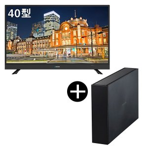 maxzen J40SK03録画用USB外付けハードディスク2TBセット 40V型 地上・BS・110度CSデジタルフルハイビジョン液晶テレビ|aprice