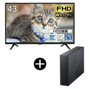 maxzen J43SK03録画用USB外付けハードディスク2TBセット 43V型 地上・BS・110度CSデジタルフルハイビジョン液晶テレビ|aprice