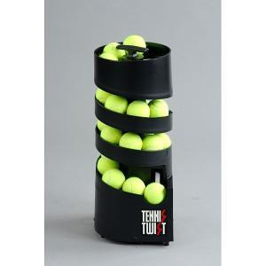ボール出し機 テニス コンパクト Tennis Tutor AP-TM-DC トスマシン テニスマシン(ツイストDC・単一電池6個使用) テニス用品 球出し 練習 軽量