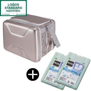 クーラーボックス 小型 大容量 保冷剤 ロゴス(LOGOS) ハイパー氷点下クーラーL + 倍速凍結...