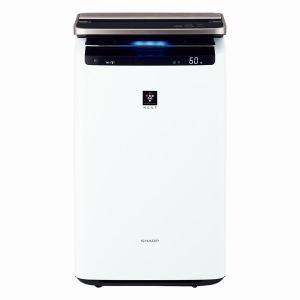 SHARP KI-LP100-W ホワイト系 加湿空気清浄機 (空気清浄46畳/加湿26畳まで)|XPRICE PayPayモール店