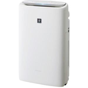 SHARP KI-LS50-W ホワイト系 加湿空気清浄機 (空気清浄〜23畳/加湿〜15畳)|XPRICE PayPayモール店