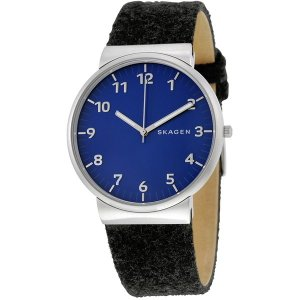SKAGEN スカーゲン SKW6232 ネイビー×ブラック ANCHER アンカー クロノグラフ [クォーツ腕時計 (メンズウオッチ)] aprice