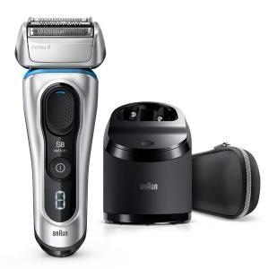 BRAUN(ブラウン) 8390cc シリーズ8 メンズ シェーバー 電気シェーバー 髭剃り 電気カ...