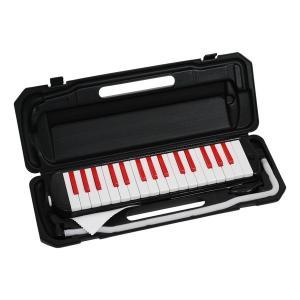 KC P3001-32K/BKRD ブラック/レッド Melody Piano [鍵盤ハーモニカ]|aprice