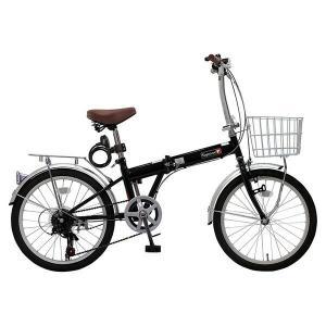 TOP ONE KGK206LL-09-BK ブラック [折りたたみ自転車(20インチ・6段変速)]|aprice