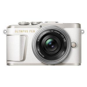 OLYMPUS E-PL9 EZダブルズームキット ホワイト ミラーレス一眼カメラ
