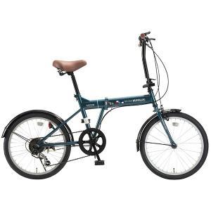 マイパラス M-208-OC オーシャン [折りたたみ自転車(20インチ・6段変速)]|aprice