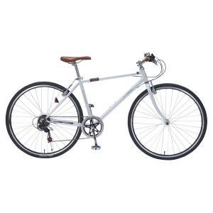 マイパラス M-604-W ホワイト [クロスバイク(700×32C・6段変速)]|aprice