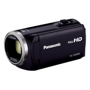 PANASONIC HC-V360MS-K ブラック [デジタルハイビジョンカメラ(内蔵メモリー16GB)]