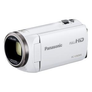 PANASONIC HC-V360MS-W ホワイト [デジタルハイビジョンカメラ(内蔵メモリー16GB)]