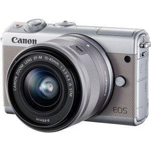 CANON EOS M100 G 15-45 IS グレー ...