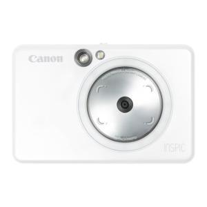 CANON ZV-123-PW パールホワイト iNSPiC インスタントカメラプリンター