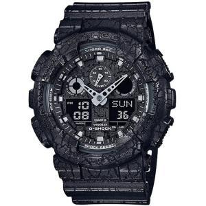 CASIO カシオ GA-100CG-1AJF ブラック G-SHOCK Cracked Pattern [腕時計(クオーツ・メンズ)] aprice
