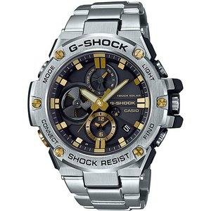 CASIO(カシオ) GST-B100D-1A9JF ホワイト×ステンレス G-SHOCK G-STEEL [ソーラー腕時計 (メンズウオッチ)] aprice