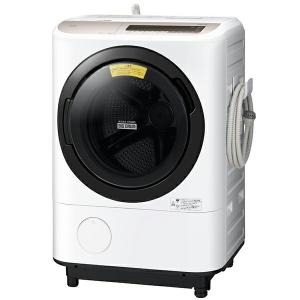 日立(HITACHI) BD-NV120CL シャンパン ビッグドラム ななめ型ドラム式洗濯乾燥機 (12kg) 左開き BDNV120CL|aprice