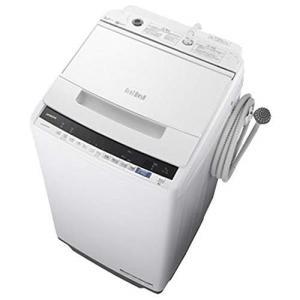 日立 BW-V70E ホワイト ビートウォッシュ 全自動洗濯機(7.0kg)