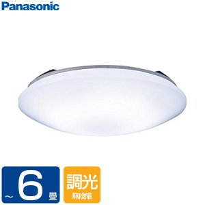 PANASONIC LSEB1068K [洋風LEDシーリングライト(〜6畳/調光)リモコン付き サ...