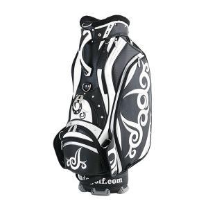 JADO ジャドゴルフ JGCB7871 Vast Tattooシリーズ キャディバッグ ブラック×シルバー×ホワイト|aprice