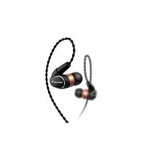 パイオニア SE-CH9T-K ブラック [マイク&コントローラー搭載 ハイレゾ対応 密閉型カナルイヤホン]|aprice