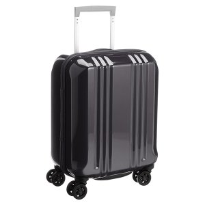 アジア・ラゲージ MM-5555 ブラック A.L.I(エー・エル・アイ) デカかる2 [スーツケース(22L/1〜2泊) 機内持ち込み可]|aprice