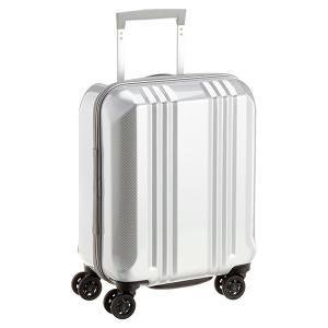 アジア・ラゲージ MM-5555 カーボンホワイト A.L.I(エー・エル・アイ) デカかる2 [スーツケース(22L/1〜2泊) 機内持ち込み可]|aprice
