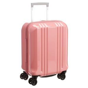 アジア・ラゲージ MM-5555 S-ピンク A.L.I(エー・エル・アイ) デカかる2 [スーツケース(22L/1〜2泊) 機内持ち込み可]|aprice