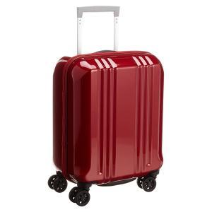 アジア・ラゲージ MM-5555 クリスタルレッド A.L.I(エー・エル・アイ) デカかる2 [スーツケース(22L/1〜2泊) 機内持ち込み可]|aprice