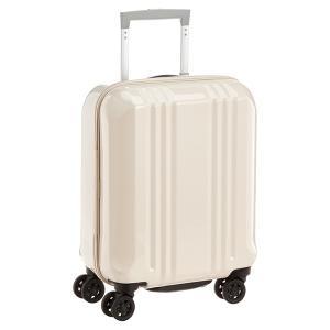 アジア・ラゲージ MM-5555 ホワイトスキン A.L.I(エー・エル・アイ) デカかる2 [スーツケース(22L/1〜2泊) 機内持ち込み可]|aprice