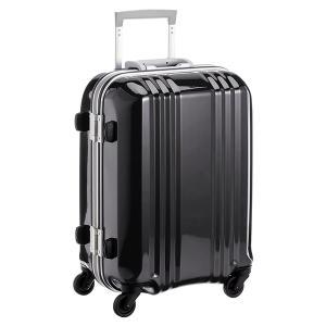 アジア・ラゲージ MM-5188 ブラック A.L.I(エー・エル・アイ) デカかる2 [スーツケース(34L/1〜2泊) 機内持ち込み可]|aprice
