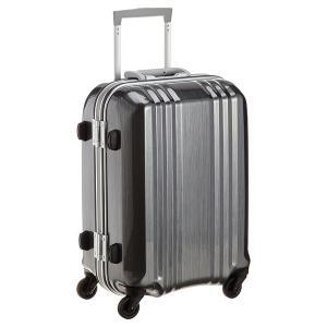 アジア・ラゲージ MM-5188 ガンメタブラッシュ A.L.I(エー・エル・アイ) デカかる2 [スーツケース(34L/1〜2泊) 機内持ち込み可]|aprice