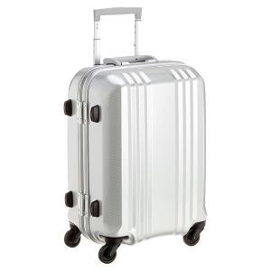 アジア・ラゲージ MM-5188 カーボンホワイト A.L.I(エー・エル・アイ) デカかる2 [スーツケース(34L/1〜2泊) 機内持ち込み可]|aprice