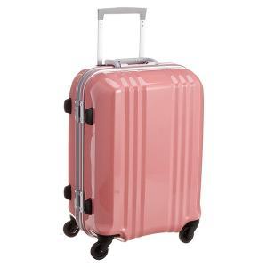 アジア・ラゲージ MM-5188 S-ピンク A.L.I(エー・エル・アイ) デカかる2 [スーツケース(34L/1〜2泊) 機内持ち込み可]|aprice
