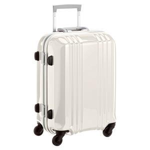 アジア・ラゲージ MM-5188 ホワイトスキン A.L.I(エー・エル・アイ) デカかる2 [スーツケース(34L/1〜2泊) 機内持ち込み可]|aprice