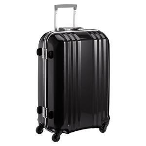 アジア・ラゲージ MM-5288 ブラック A.L.I(エー・エル・アイ) デカかる2 [スーツケース(49L/2〜3泊)]|aprice