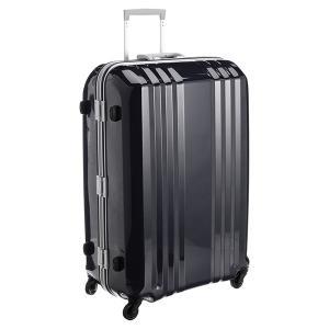 アジア・ラゲージ MM-5688 ブラック A.L.I(エー・エル・アイ) デカかる2 [スーツケース(90L/4〜7泊)]|aprice