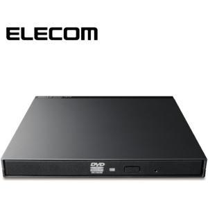 ELECOM LDR-PMK8U2VBK DVDマルチ ドライブ 外付け mini-B USB2.0...