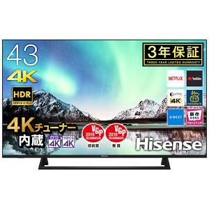 Hisense 43E6800 43V型 地上・BS・110度CSデジタル 4Kチューナー内蔵 液晶テレビ|aprice