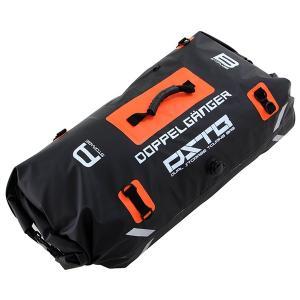 DOPPELGANGER DBT217-BK ブラック×オレンジ [デュアルストレージツーリングバッグ]|aprice