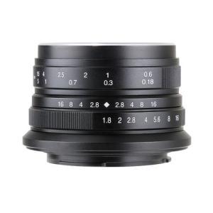 七工匠 7Artisans 25mm F1.8 ブラック ソニーE (APS-C) 交換レンズ
