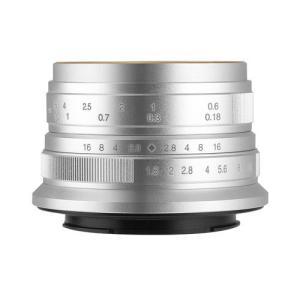 七工匠 7Artisans 25mm F1.8 シルバー キヤノンEF-M 交換レンズ