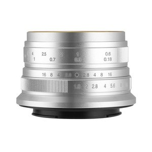 七工匠 7Artisans 25mm F1.8 シルバー ソニーE (APS-C) 交換レンズ