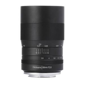 七工匠 7Artisans 60mm F2.8 Macro ブラック ニコンZ 交換レンズ