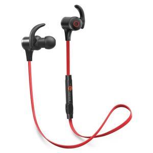 タオトロニクス TT-BH07 レッド [Bluetoothイヤホン]|aprice