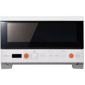 siroca ST-2D251 (W) ホワイト オーブントースター 1400W すばやき 2枚焼き...